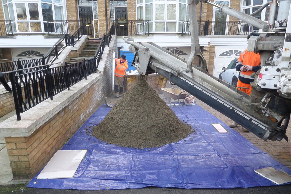 Onsite Mixed Screed